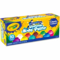 Crayola Classic Washable Kid's Project Paint - 10 Pack - 2 oz