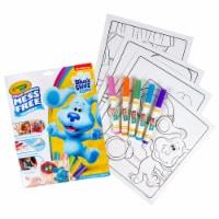 Crayola Blue's Clues Color Wonder Mess Free Activity Pad - 18 pk