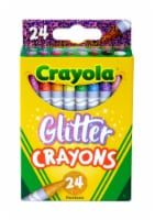 Crayola® Glitter Crayons - 24 pk