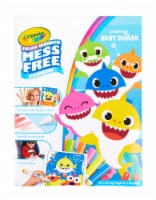 Crayola Color Wonder Pinkfong Baby Shark Coloring Set
