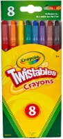 Twistable Crayons, Traditional Colors, 8/Pack 52-7408
