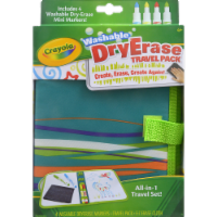 Crayola All-in-One Portable Dry Erase Travel Pack