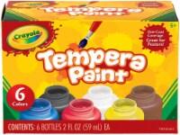 Crayola Tempera Paint 2oz 6/Pkg- - 1