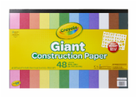 Crayola 99-0055 Giant Construction Paper Pad - 48 Page