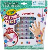 Crayola Glitter Dots Kit-Jewelry - 1