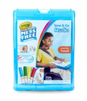 Crayola Color Wonder Stow & Go Studio Lap Desk with Storage - Blue - 1 ct