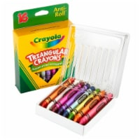 Crayola Llc Formerly Binney & Smith Bin524016 Crayola Triangular Crayons 16 Count