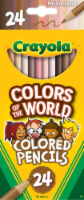 Crayola Colors of the World Colored Pencils