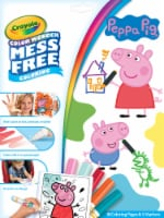 Crayola Color Wonder Peppa Pig Coloring Pad and Markers - 1 ct