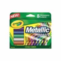 Crayola - Metallic Marker 8-Color Set