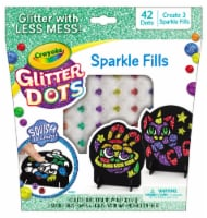 Crayola Glitter Dots Sparkle Fills 42 Pack