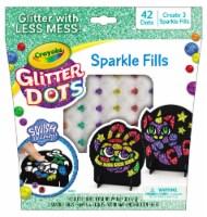 Crayola Glitter Dots Sparkle Fills 42 Pack
