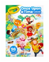 Crayola Once Upon a Time Fairytale Coloring Book - 24 pk