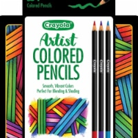 Crayola 1587142 Artist Gel Colored Pencils with Tin - Set of 24