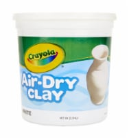 Crayola Air-Dry Clay - White