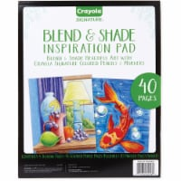 Crayola Blend & Shade Inspiration Pad - 40 Pages - 1Each - 1