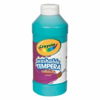 Crayola Artista II Washable Tempera Paints - 16 oz - 1 Each - Turquoise