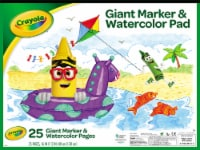 Crayola Giant Marker & Watercolor Pad