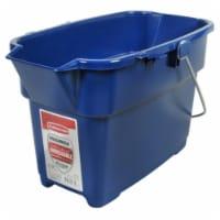 Rubbermaid 1793555 14 qt. Roughneck Bucket - Royal Blue - 1