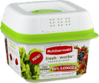 Rubbermaid® Fresh Works Produce Saver Storage Container