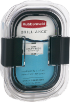 Rubbermaid® Brilliance™ Black & Clear Food Storage Container - 1 ct