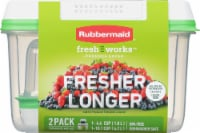 Rubbermaid Freshworks Produce Saver Containers Set