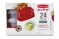 Rubbermaid Take Alongs Container Value Pack - Ruby - 24 pc
