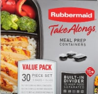 Rubbermaid Take Alongs Meal Prep Containers
