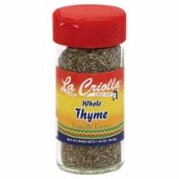 La Criolla Whole Thyme - 1.25 oz