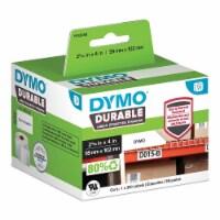 Dymo Label Tape,Polypropylene,4  L,2-5/16  W - 1