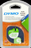 Dymo Paper Label Tape - 2 Pack - White