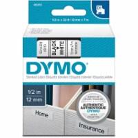 "Dymo Label Tape Cartridge,23 ft. L,1/2"" W HAWA 45013"