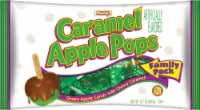 Tootsie Chewy Caramel Green Apple Candy Pops
