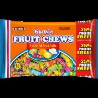 Tootsie Fruit Chews Assorted Fruit Rolls