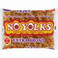 No Yolks Extra Broad Enriched Egg White Pasta - 12 oz