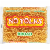 No Yolks Broad Egg Noodles Pasta