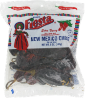 Fiesta New Mexico Chili Pods Hot and Spicy - 5 oz