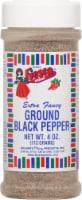 Fiesta Ground Black Pepper - 4 oz