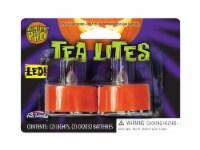 Fun World Pumpkin Pro LED Tea Lites - Orange