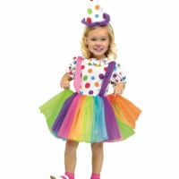 Comic Costumes 247992 Big Top Fun Toddler Costume, Rainbow - 2T