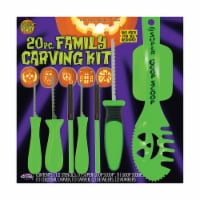 Fun World Pumpkin Pro Family Carving Kit - Assorted - 20 Pack