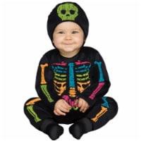 Fun World FW115321CL Baby Bones Color Child Costume, 12-24 Months