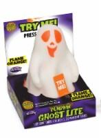 Fun World Mystical Light Up Pumpkin Ghost Lite - White/Orange