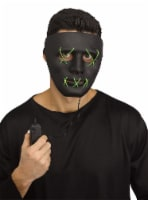 Fun World Illumo LED E.L. String Mask - Black/Green