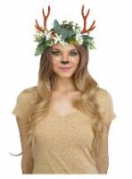 Fun World Woodland Critter Deer Headpiece - Green/Brown