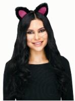 Cat Headband Pink - 1 ct