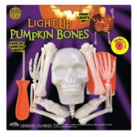 Fun World Pumpkin Bro Pumpkin Bones Carving Kit