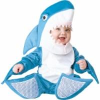 Fun World FW113701BL Little Shark Toddler Costume - Blue - 1