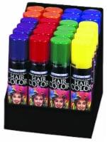 Fun World Temporary Fluorescent Hairspray - Assorted - 24 pk
