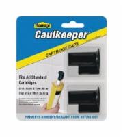 Homax  Black  Professional  Plastic  Reusable Caulking Caps  2 pk - Case Of: 1; Each Pack - Count of: 1